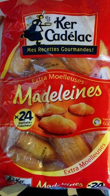 Madeleines Extra Moelleuses - Produit - fr