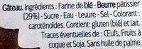 Kouign Amann LE GUILLOU - Ingrédients - fr