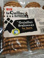 Galettes Bretonnes Le Guillou - Barquette 560 g - Product - fr