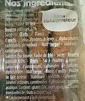 Asst Galettes Palet Kercad 325 G - Ingredienti - fr