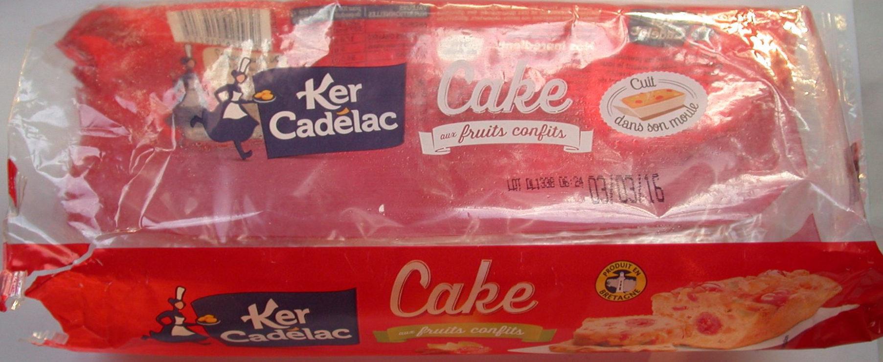 Cake aux Fruits Confits - Produit - fr