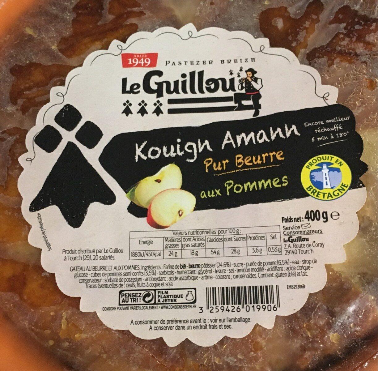 Kouign Amann aux pommes - Produit - fr