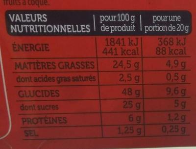 Le Moelleux Original - Voedingswaarden