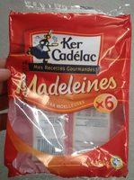 Madeleines Extra Moelleuses - Produit