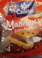 Madelons Extra Moelleux Pépites de Chocolat - Produit - fr