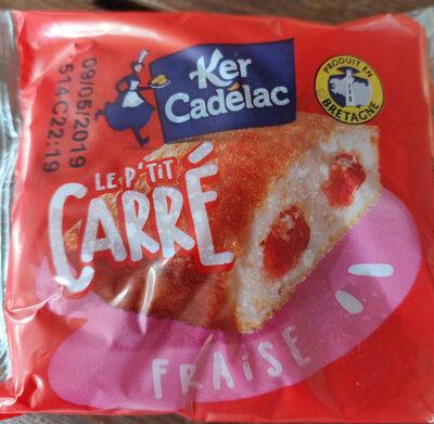 P'tit Carré Fraise 1 - Ker Cadelac - 40 gr - Produit - fr