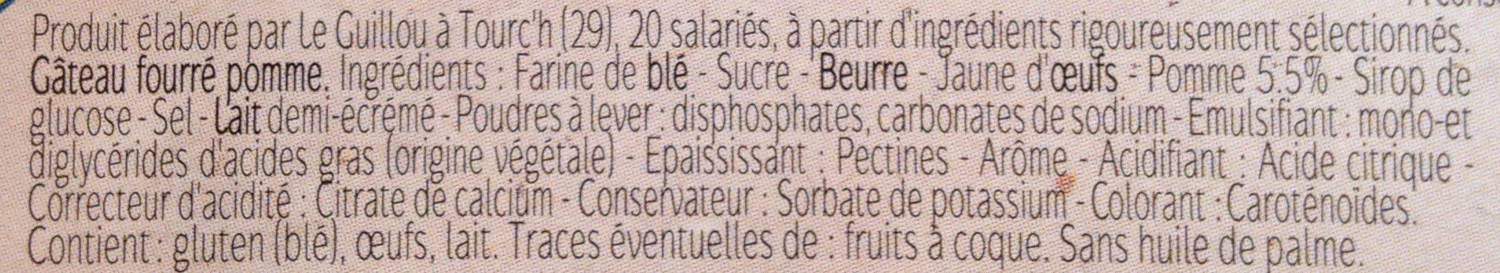 G teau breton pomme pur beurre le guillou 400 g - Acide citrique leclerc ...
