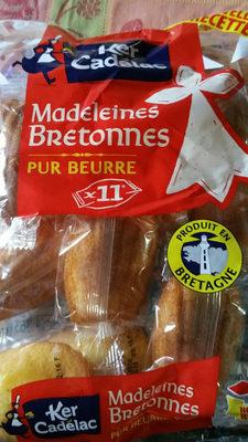 Madeleines Bretonnes Pur Beurre - Produit - fr