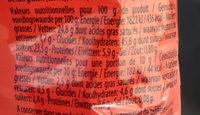 Mini's Pépites Chocolat - Informations nutritionnelles - fr