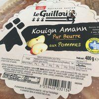 Kouigh amann pur beurre aux pommes - Produit - fr