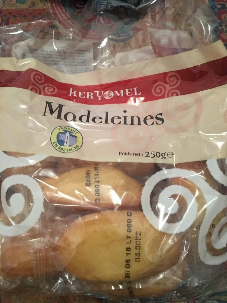 Madeleines (15g) - Product - fr