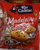 Madeleines Extra Moelleuses Maxi Pépites de Chocolat - Produit