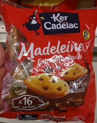 Madeleines Extra Moelleuses Maxi Pépites de Chocolat - Product