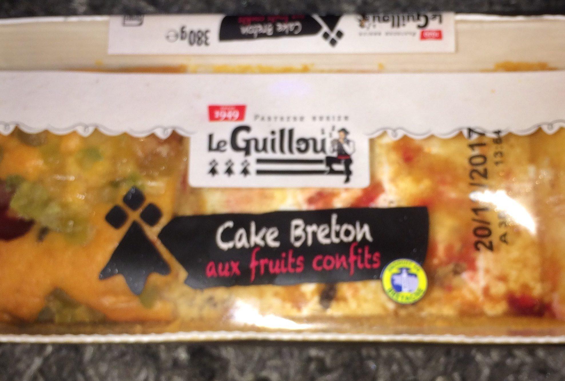 Cake Breton aux fruits confits - Produit - fr