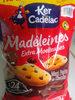 Madeleines maxi pépites chocolat 50% remboursés - Product