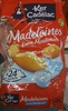 Madeleines Extra Moelleuses Fromage Blanc - Product