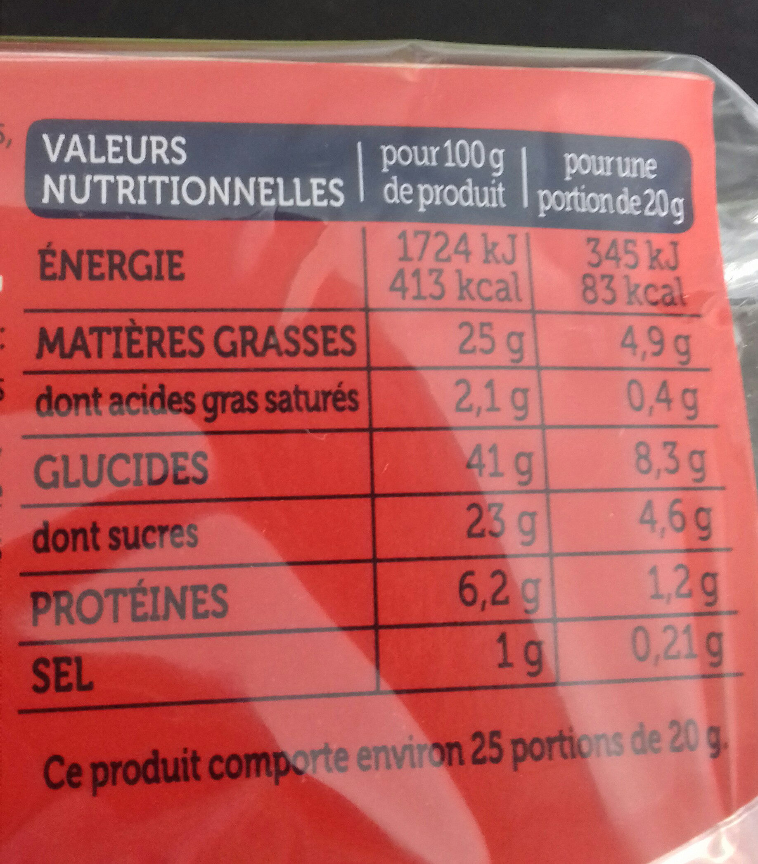 Le Moelleux Marbré Goût Choco-Noisette - Informations nutritionnelles - fr