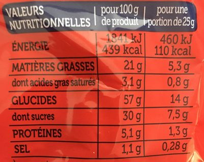 Madeleines Extra Moelleuses Chocolat et Banane - Informations nutritionnelles - fr