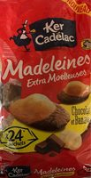 Madeleines Extra Moelleuses Chocolat et Banane - Produit - fr