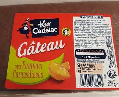 Gâteau aux Pommes Caramélisées - Product