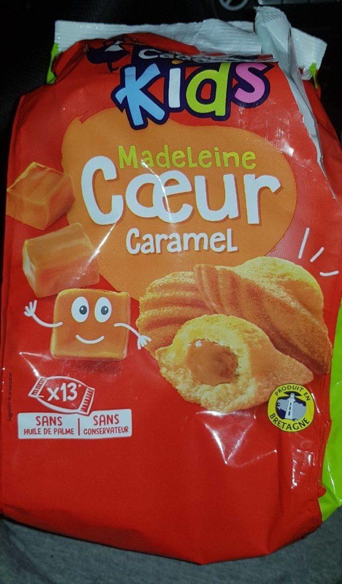 Kid's Madeleine coeur caramel - Produit - fr