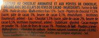 Le Gourmand Chocolat - Ingrédients - fr