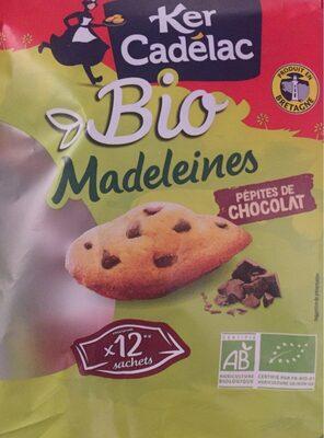 Madeleines bio pépites de chocolat - Produkt - fr