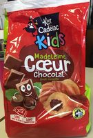 Madeleine Cœur Chocolat Goût Noisette - Produit