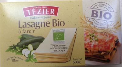 Lasagne Bio à farcir - Produit - fr