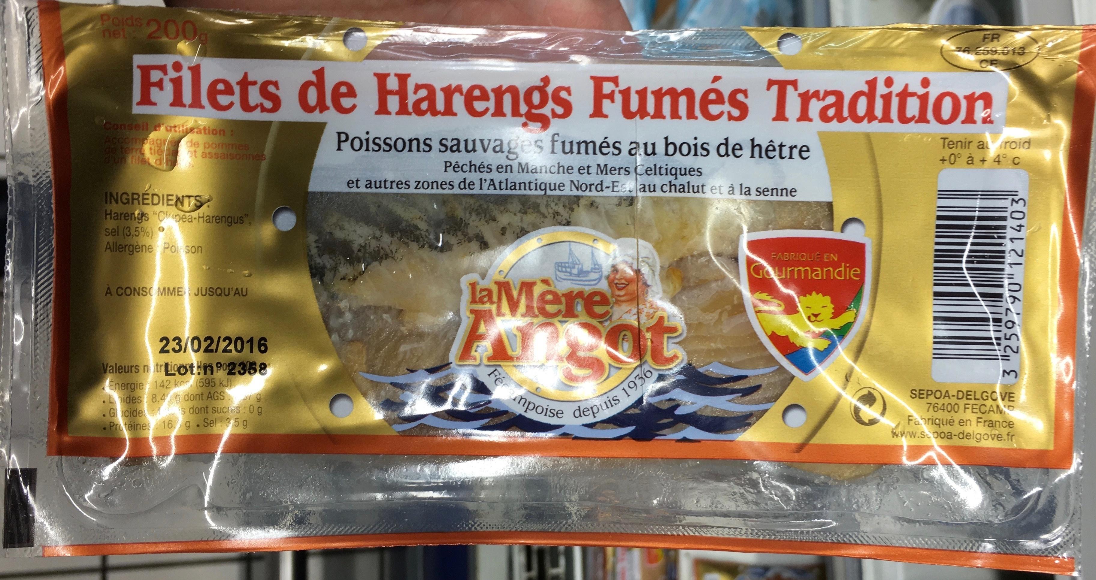 Filets de Harengs Fumés Tradition - Produit