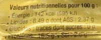 Filets de Harengs Fumés Doux - Voedingswaarden - fr