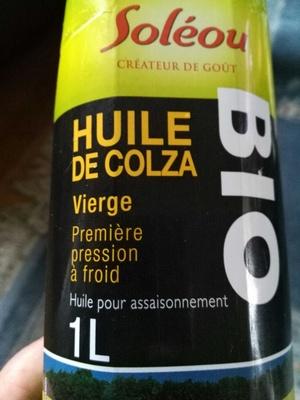 Huile de colza vierge - Product - fr