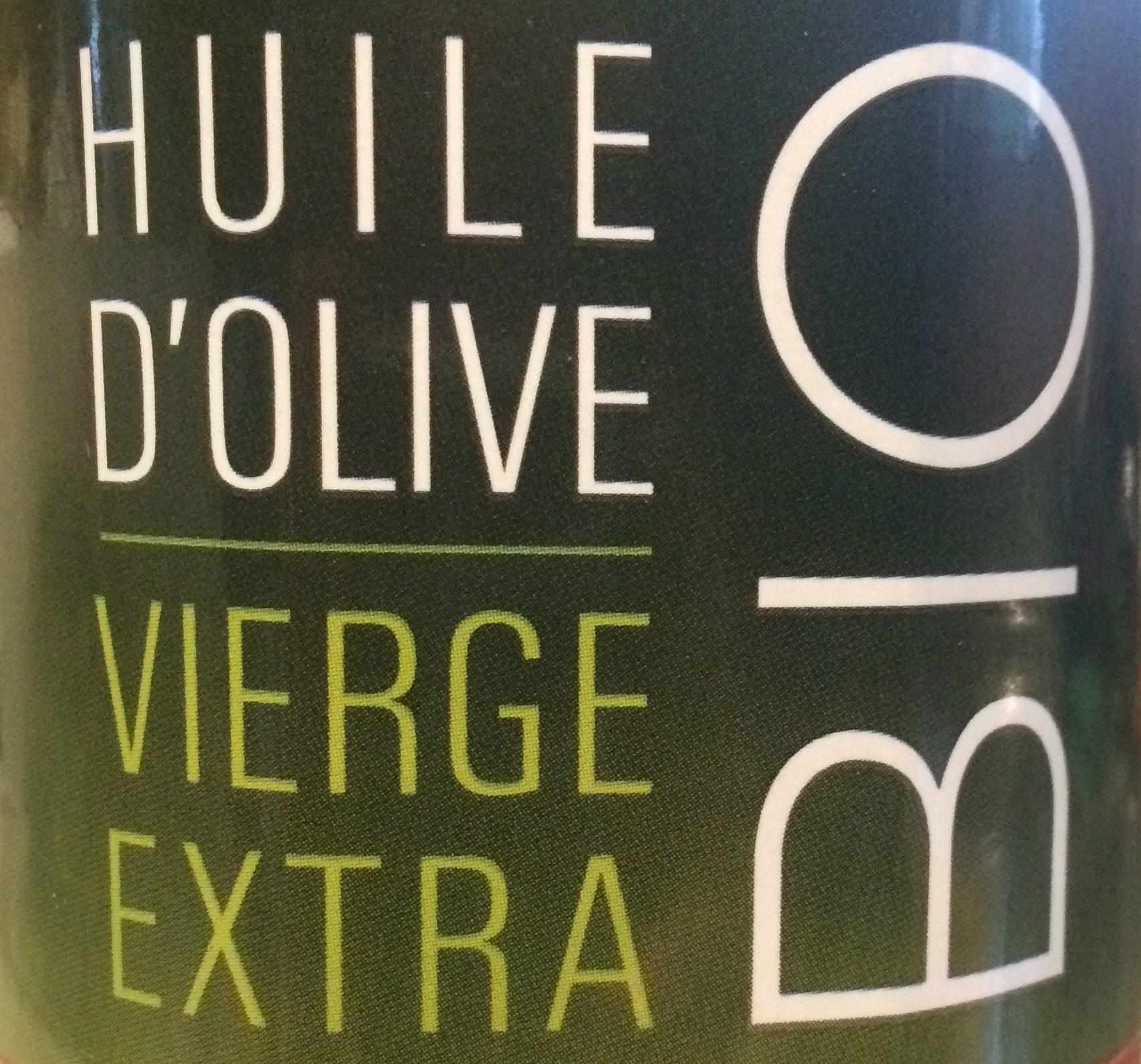 Huile d'olive vierge extra Bio - Ingrédients - fr