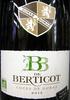 Côtes de Duras AOC 2012 Blanc Sec Bio BB de Berticot - Product