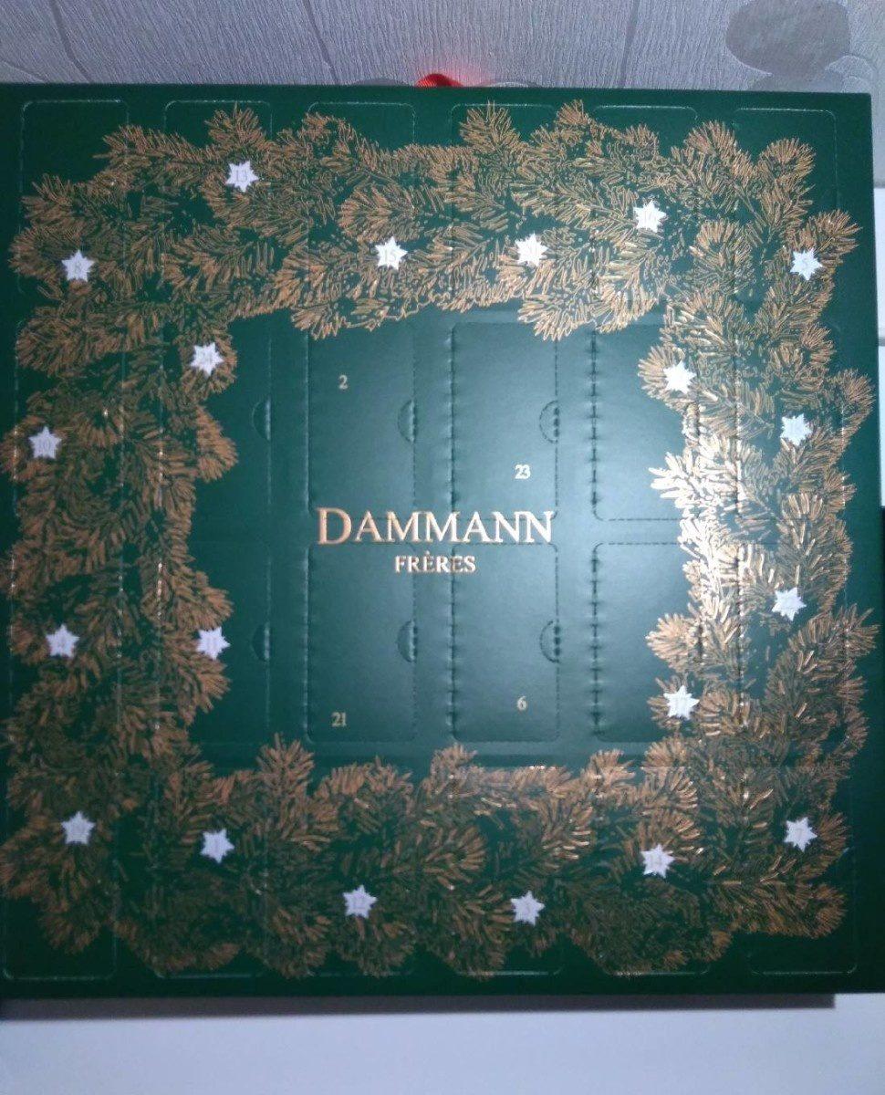 Calendrier de l'Avent   Dammann Frères   51 g