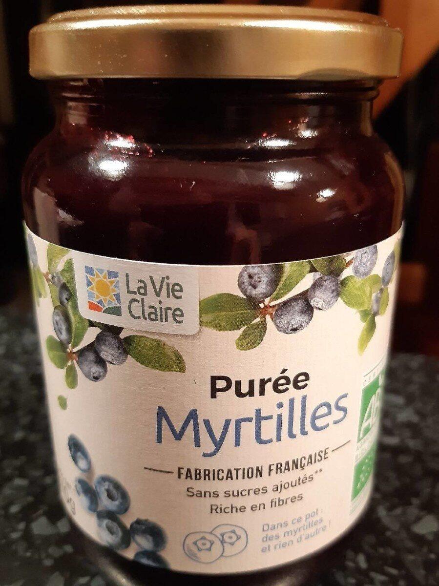 Purée de myrtilles - Product