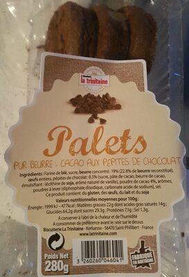 Palets Cacao - Prodotto - fr