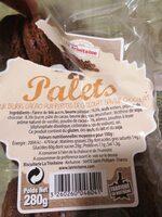 Palets Cacao - Valori nutrizionali - fr