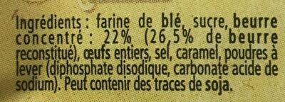 Assortiment biscuits - Ingrédients - fr
