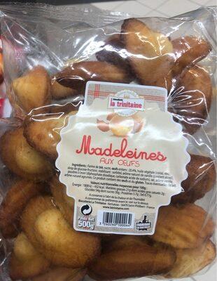 Madelaines aux oeufs - Produit