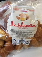 Madeleinettes aux oeufs - Product