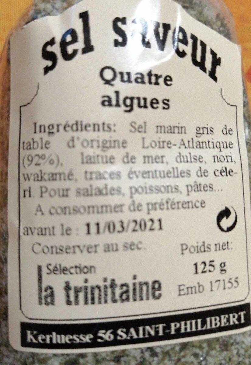 Sel saveur 4 alges - Product - fr