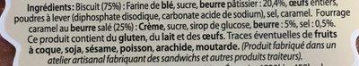 Gateau Breton - Ingrediënten - fr