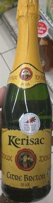 Cidre Breton Doux - Product - fr