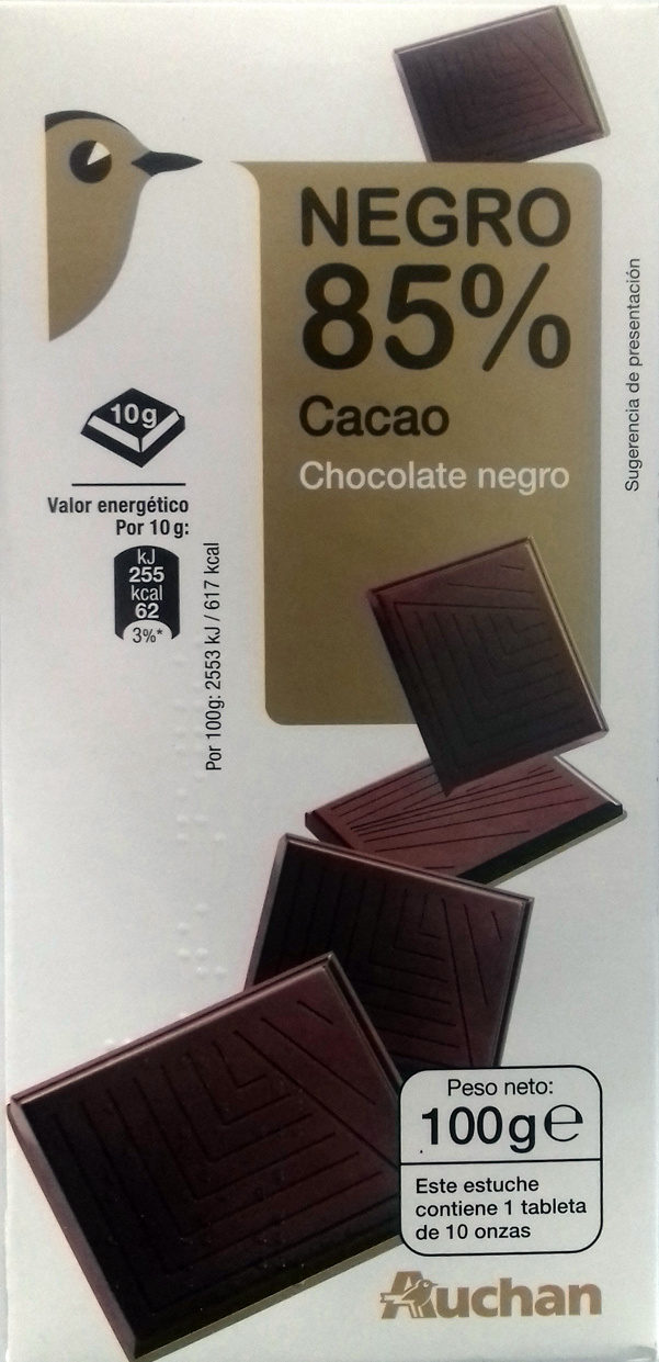 Chocolate 85% - Product