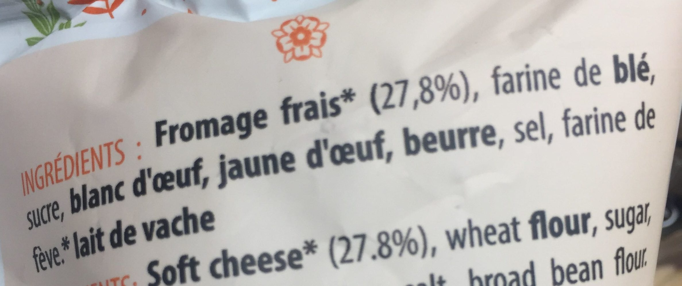 Le tourteau - Ingredients - fr