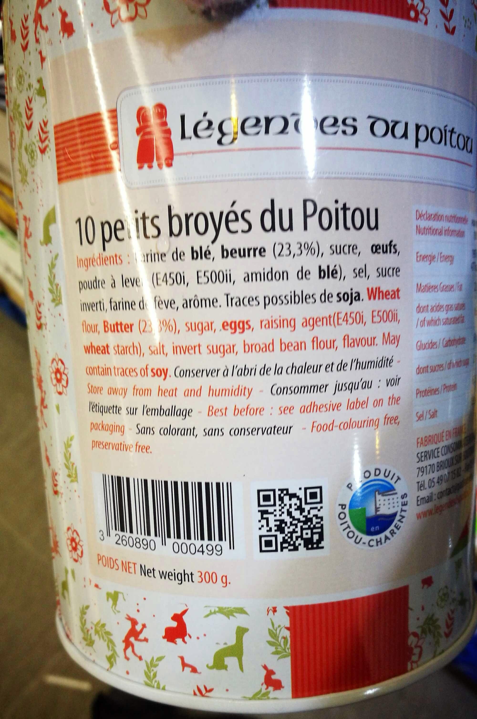 Petite broyes du poitou - Product