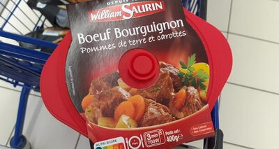 Bœuf bourguignon pommes de terre et carottes - Product - fr