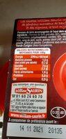 Bœuf bourguignon pommes de terre et carottes - Voedingswaarden - fr