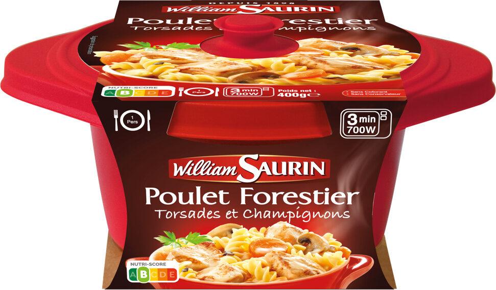 Poulet Forestier Torsades et Champignons - Product - fr